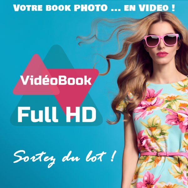 vidéo book, book modèle, vidéobook